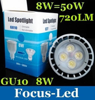 Cree best led downlight - 100000 Hours Life Best For Room W GU10 Led Spotlight Bulb Lamp Lumens Warm Pure Cool White Led Downlight V CE ROHS SAA