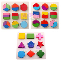 Wholesale wooden toy learning tool intelligence graphic boards educational toy christmas gift pieces