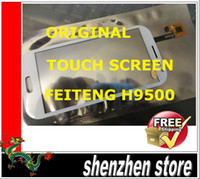 Feiteng Touch Screen  Feiteng H9500 9500 (s4) New Screen Digitizer Replacement MTK6589 phone ANDROID Free SHip