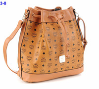 Wholesale Girls loves Handbag Soft PU Leather New MCM Backpack Bag Punk Rivets PU Leather New Arrival CheapWomen Medium Vintage Shoulder Bags