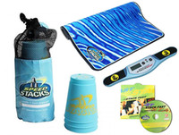 Wholesale Speed Stacks Light Blue Cups Set of Cups Timer Mat Bag DVD Loose Cool