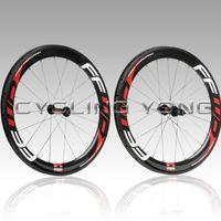 Wholesale FFWD F6R mm clincher bicycle wheels c carbon fiber road bike racing wheelset C clincher