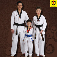 Wholesale Lf1 tae kwon do child adult clothes paragraph taekwondo thaiquan myfi cotton