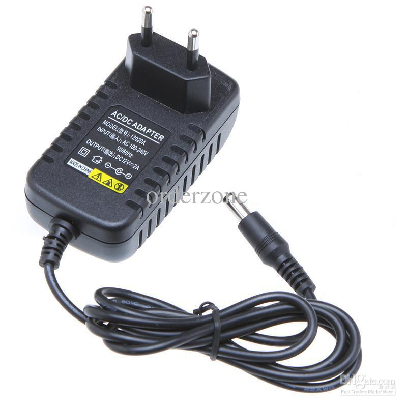 AC 100 240V To DC 12V 2A EU Plug AC DC Power Adapter