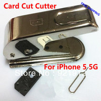 Wholesale SIM Card Cutter Cutting for Phone Standard Regular Or Micro Sim Card To Nano Sim Card Cut Cutter For Phone