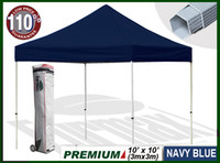 Wholesale Eurmax Premium easy pop up canopy x10 Navy no wall