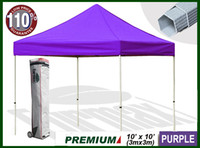 Wholesale Eurmax Premium easy pop up canopy x10 Purple no wall