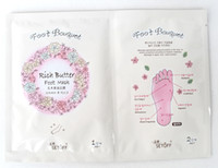 MASK   SETOFF FOOT mask rich Shea Butter oil FOOT therapy 2 pairs bag FOOT MASK