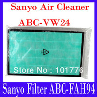 Activated Carbon Air Filter abc electrical - Air filter net ABC FAH94 for Sanyo Air cleaner