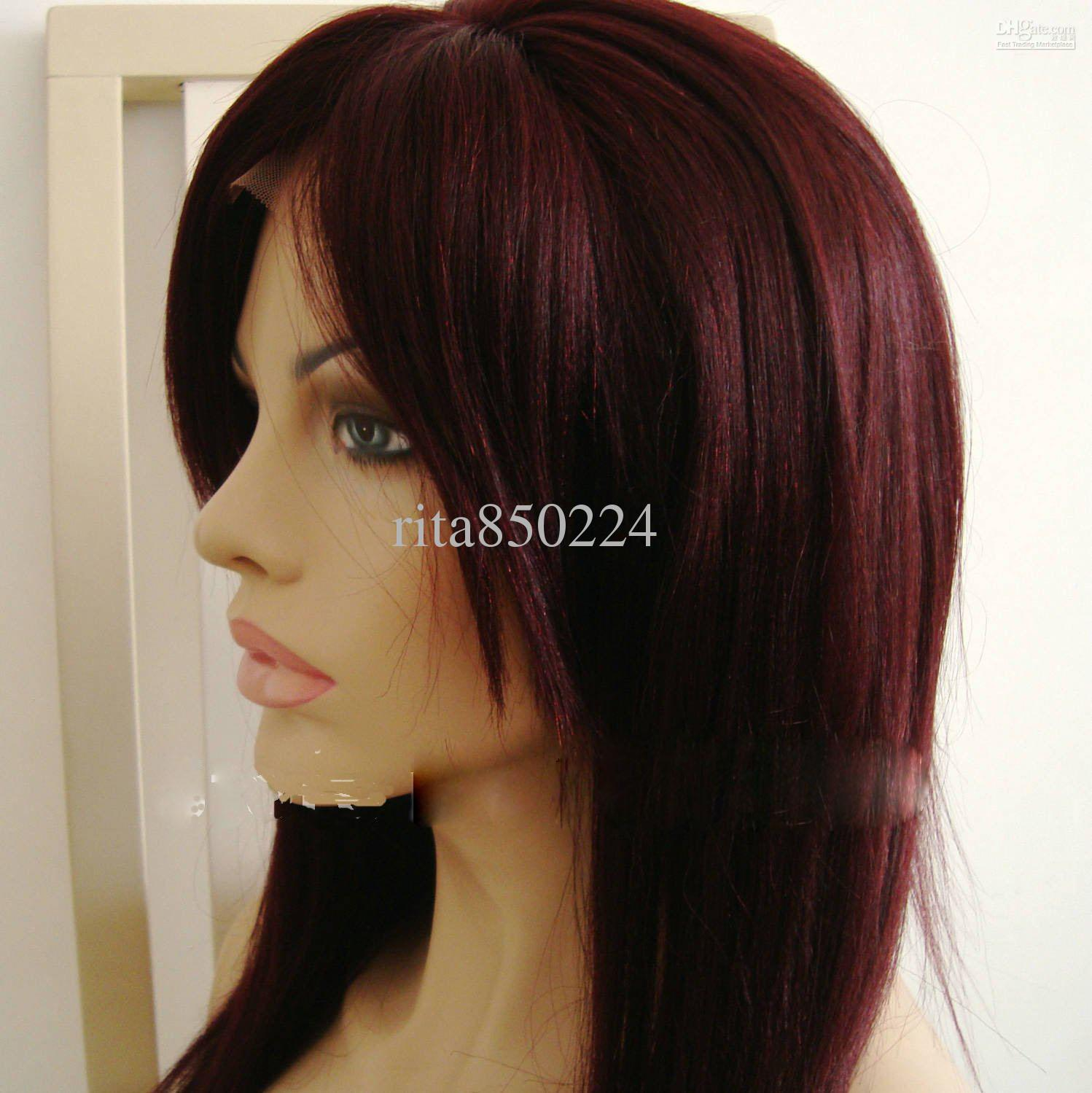 dark wine hair color Quotes