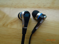 Wholesale Super bass SMS STREET by Cent fasion noodle In Ear Earphone Headphones black
