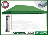 Wholesale PREMIUM x20 EZ Pop Up Tent Instant Canopy Shade Mid Commercial Level kelly green