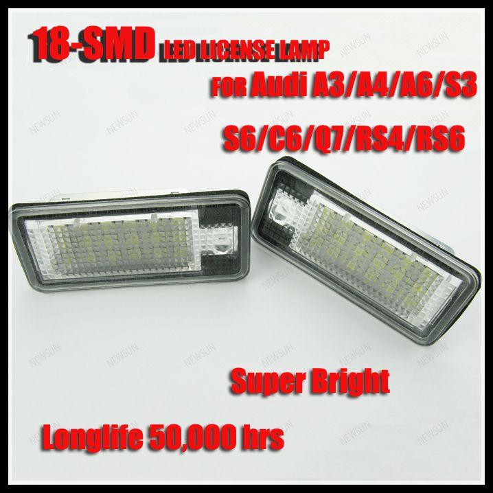 Super Bright 18smd Led License Plate Frame Lamp