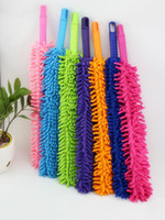lampshade frames - Multi function Microfiber chenille cleaning duster Easily Removes Dust cleaner feather