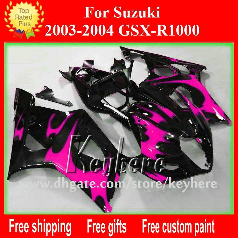 Free 7 Gifts Custom Abs Fairing Kit For Suzuki Gsxr 1000 2003 2004 Gsx R1000