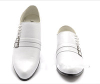 Wholesale new fast shipping high quality white Wedding shoes prom shoes Dress shoes