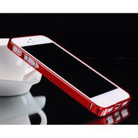 achat en gros de dur iphone5 métallique-Housse de protection en métal pour iPhone 5 5S iPhone5 Housse de protection en aluminium pour iPhone 4 / 4S avec vis