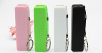 Wholesale Perfume Power Bank mah Mini Backup External Battery Pack Emergency Charger for iPhone Galaxy S3 i9300 with Key Ring