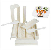 Wholesale sushi mold soshi maker set tools DIY cutter hot sale high quality with retail box set