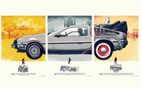 Cheap Back To The Future Movie Classic Silk Wall Poster Silk Canvas Poster 04 hot Painting Room Decorate