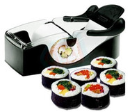 Wholesale Easy Sushi Maker Roller equipment perfect roll Roll Sushi with color box black color HG103
