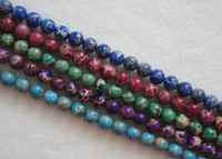 Wholesale New mm Africa Turquoise Round Loose beads piece strand inch
