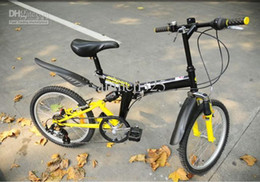 Wholesale green yellow red Avisports inches folding bicycle shock absorption segment change speed