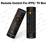 Wholesale LLFA743 New Arrival Mele F10 in1 Wireless Keyboard Fly air mouse HTPC Game IPTV Remote Control with USB receiver