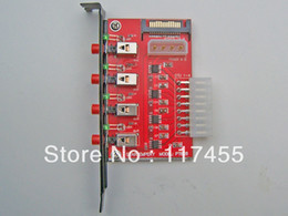 Wholesale Four channel SATA device HDD power switch Star Empery PT628