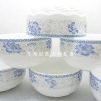 Wholesale Bowl porcelain set ceramic bowl rice bowl microwave oven