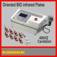 Wholesale Ultrasonic Liposuction Infrared Slimming Equipment With BIO Infrared plates and KHZ cavitation
