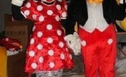 Wholesale SALE Mouse Couple mascot costume Adult Size