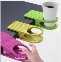 Bar big kitchen table - creative table glass clip cup care big clip deskside folder kitchen tableware