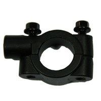 Wholesale Universal Motorcycle quot Handle Bar Mirror Mount Holder Adapter mm Thread