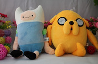 Cartoon Network Adventure Time JAKE and FINN Plush Doll Toy ...