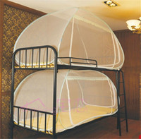Wholesale Student Bed Net Bunk Bed Mosquito Net Kid Bedding Using Camp Folded Net Ger Nets