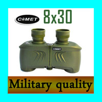 6~10 X Universal Image Stability High Quality! COMET 8x30 military high-power high-definition night vision binoculars telescope outdoor tourism