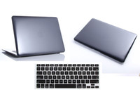 Wholesale Free Silicone Kayboard Skin Black Crystal Transparent Clear Skin Hard Case Cover For Macbook Pro quot