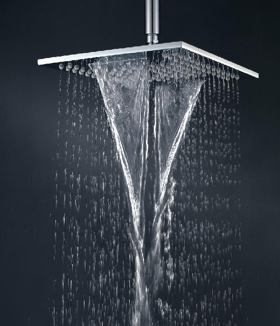 Buy Double Waterfall Shower Head With Dual Rain And Waterfall Functions Showe