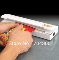 Wholesale Portable Vacuum Sealer Use Batteries Plastic Bag Reseal Save Fresh Food Heat Sealer Reseal amp Save