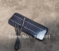 Mono crystalline silicon solar panel 12v battery car - 12V W Portable Solar Panel Battery Charger For Car Boat Motor Solar Panel Charger