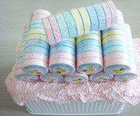 Wholesale Towel Nonwoven Compressed Travel Washcloth Essential hand hairdressing Reusable wash bowl inch