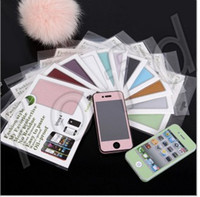 Wholesale case for iphone4 screen protector for iphone4 s Full Body Bling Cover Wrap Skin Sticker case Fashion Style