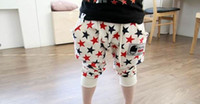 Wholesale five star New Summer cotton colors Girl s Pants seven minutes of pants