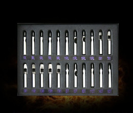 Wholesale Complete Set of Tattoo Steel Tip Nozzles
