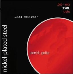 250L Super 250 nickel-plaqué acier guitare électrique cordes lumière (10 ensembles de cordes) à partir de guitares à cordes de super fournisseurs