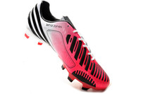 Wholesale American Football Shoes Mens Outdoor Cleats Football Boots Soccer Shoes Soccer Cleats Predator LZ DB FG Boots Pink White Black