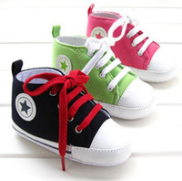 Wholesale Cute Baby Shoes Children Footwear Newborn Infant Start Printed Walker Shoes Boys Girls soft soled Casual Shoes