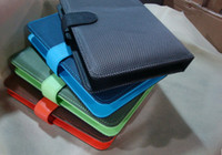 Wholesale New Mesh PU Leather USB Keyboard Cover Case for quot inch Tablet Android PC MID Q88