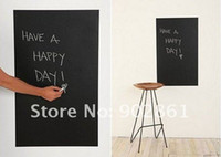 Wholesale 45cm cm self adhesive blackboard stickers stationery for kids home decoration home office must have on wall sets blackboard to stick